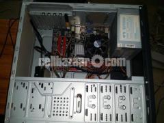"Desktop 2GB RAM 180GB HDD Processor Core 2 Duo With 15.1"" monitor"