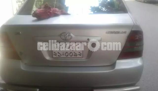 X Corolla 2003 - 3/4