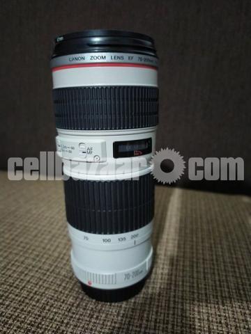 Canon 70-200 4l Usm Zoom Lense - 1/5
