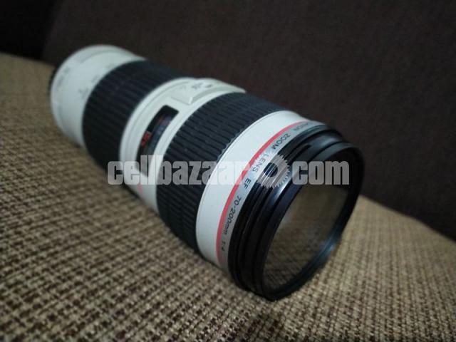 Canon 70-200 4l Usm Zoom Lense - 2/5