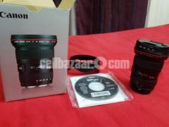CANON Original Lense Setup
