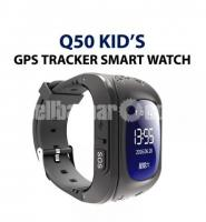 Kid's GPS Tracker Watch Smart for Location & Communication Q50