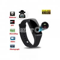 Spy Camera Wristband Video, Voice & Picture Recorder Full-HD