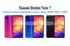 Xiaomi Redmi Note 7 Officials Global Version 48+5/13MP Camer