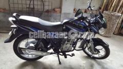 Bajaj Discover 125cc Disc Black-Blue