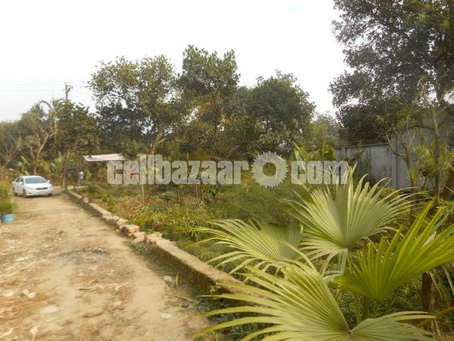 Plot rent in commercial area at Ashulia - 1/5