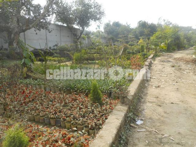 Plot rent in commercial area at Ashulia - 4/5