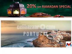 Tourist visa processing Portugal