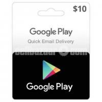 US Google Play Gift Card