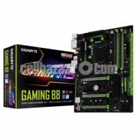 Gigabyte Gaming B8 motherboard 4gb Ram dual core por 7th gen
