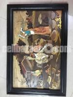 Mysore Wooden Art Painting
