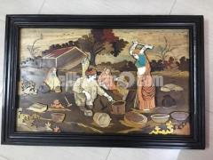 Mysore Wooden Art Painting