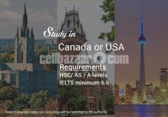 Study in Canada & USA