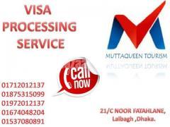 Visa Processing by Muttaqueen Tourism