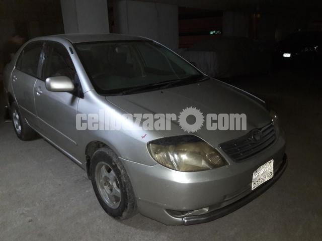 X Corolla 2003 - 5/5