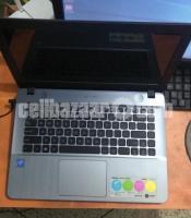 Asus X441SA laptop has Intel celeron dual core processor, 4 GB DDR3 laptop RAM, 500 GB HDD