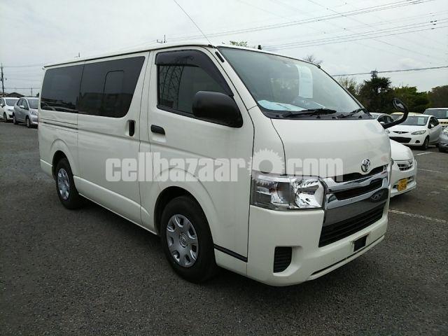 Toyota Hiace GL White Color 2014 - 1/3