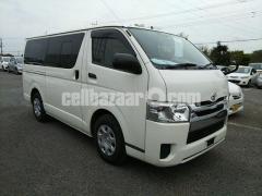 Toyota Hiace GL White Color 2014