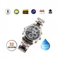 Spy Camera Watch Waterproof Built-In 32GB with Voice Recorder