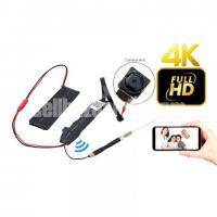Spy Camera 4K Wifi IP Came Night Vision CCTV Cam P2P Module