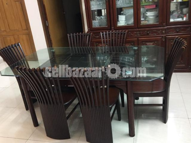 6 seater dining table - 4/4