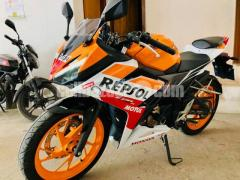Honda CBR Repsol 2017 with Engine Warranty