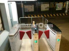 Flap Barrier Turnstile gates