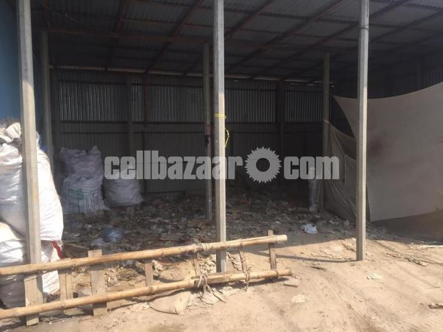 25000 sft. INDUSTRIAL SHED SPACE FOR RENT AT GAZIPUR CHOWRASTHA - 4/5