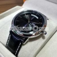 WW0372 Original IBSO Day Date Leather Belt Watch