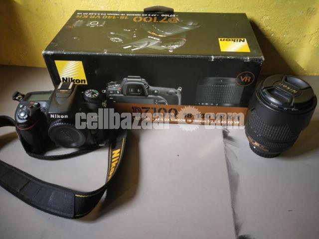 Nikon D7100/ 18-140mm zoom lanse - 1/4