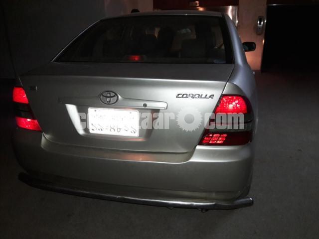 X Corolla 2003 - 1/5
