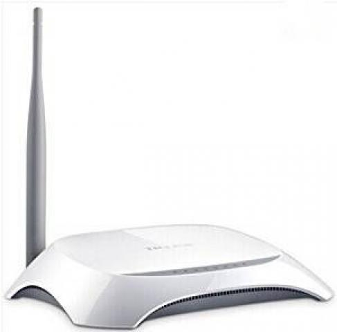 TP-LINK SINGLE ANTENNA WIFI ROUTER