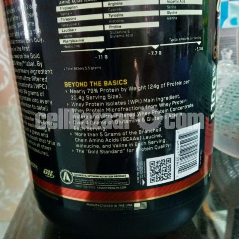 Whey Protein from U.S.A (29Servings) - 2/3