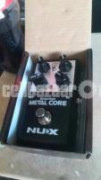 NUX Metal core guitar effect distortion pedal. stompbox