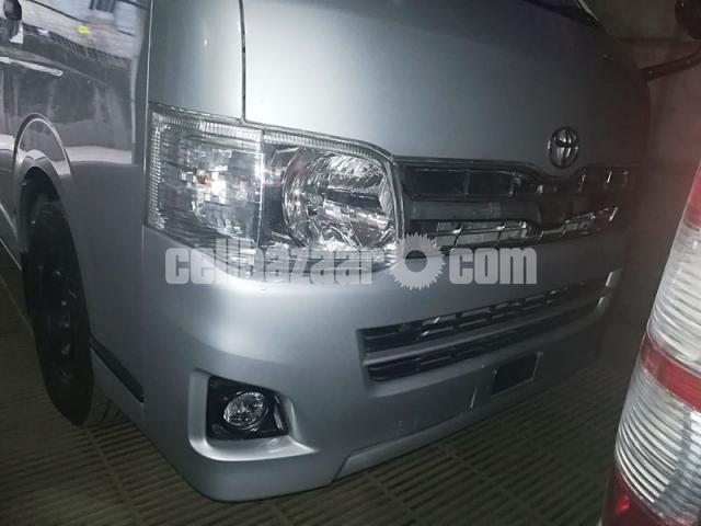 Toyota Hiace GL Pkg Silver Color - 2/4
