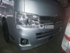Toyota Hiace GL Pkg Silver Color - Image 2/4