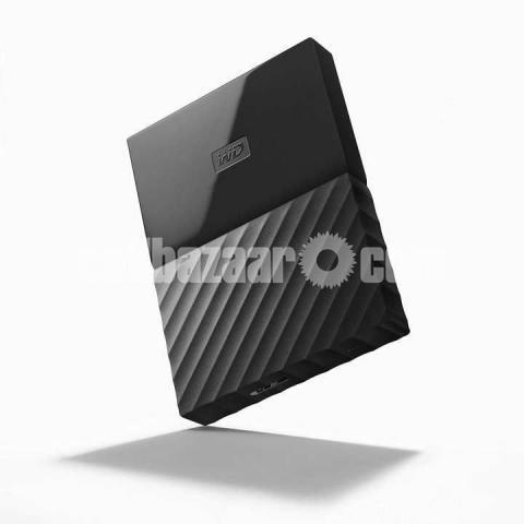WD My Passport for Mac 1TB Portable External Hard Drive - Black