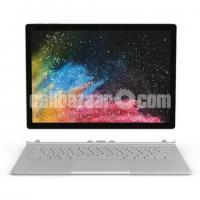 """Microsoft Surface Book Core i7 6th Gen - 8GB RAM - 256GB SSD - NVIDIA GeForce GPU - 13.5"""" - Silver"""
