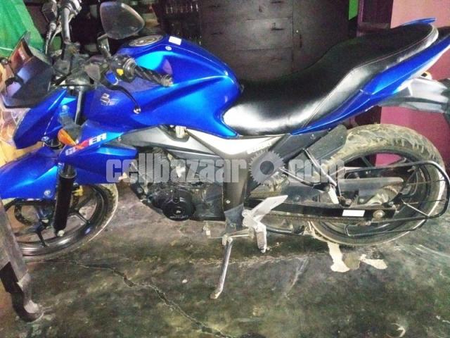 Suzuki gixxer bike urgent sell - 1/2