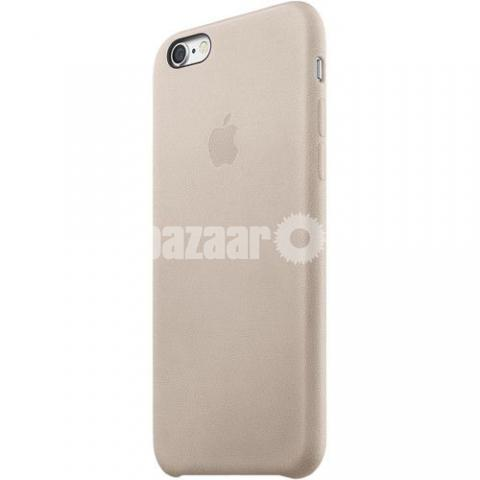 the latest b799e a2057 iPhone 6s Leather Case Rose Gray