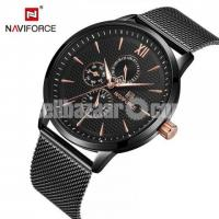 WW0500 Original Naviforce Multifunction Mesh Chain Watch 3003