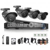 CCTV Camera HD 4 Channel
