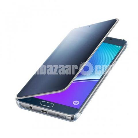 check out 033dc b33ae Samsung Galaxy Note 5 S-View Flip Cover Clear