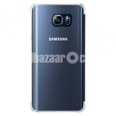 check out bf632 9b9f8 Samsung Galaxy Note 5 S-View Flip Cover Clear