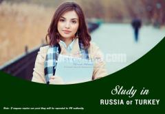 Study in Russia or Turkey