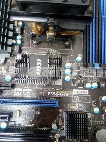 AMD FX-8120 Processor & MSI 970A-G46 Motherboard