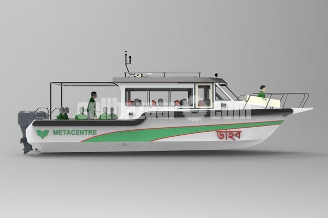 GRP FRP Speed Boat - 1/5