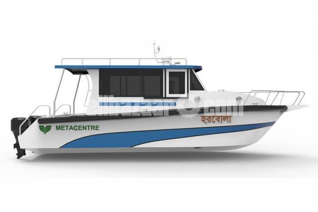 GRP FRP Speed Boat - 4/5