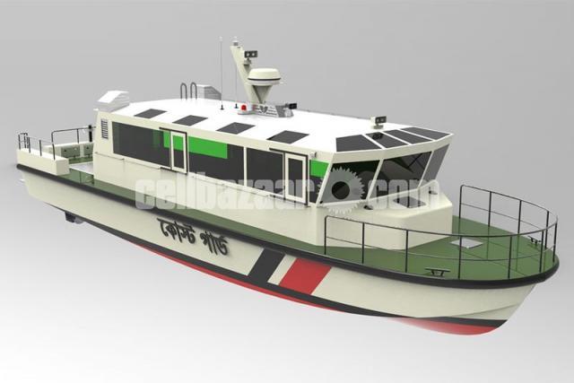 High Speed Aluminium Boat - 3/5