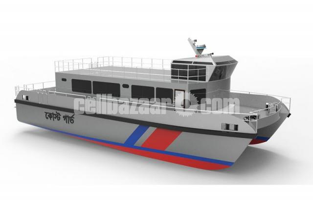 High Speed Aluminium Boat - 4/5